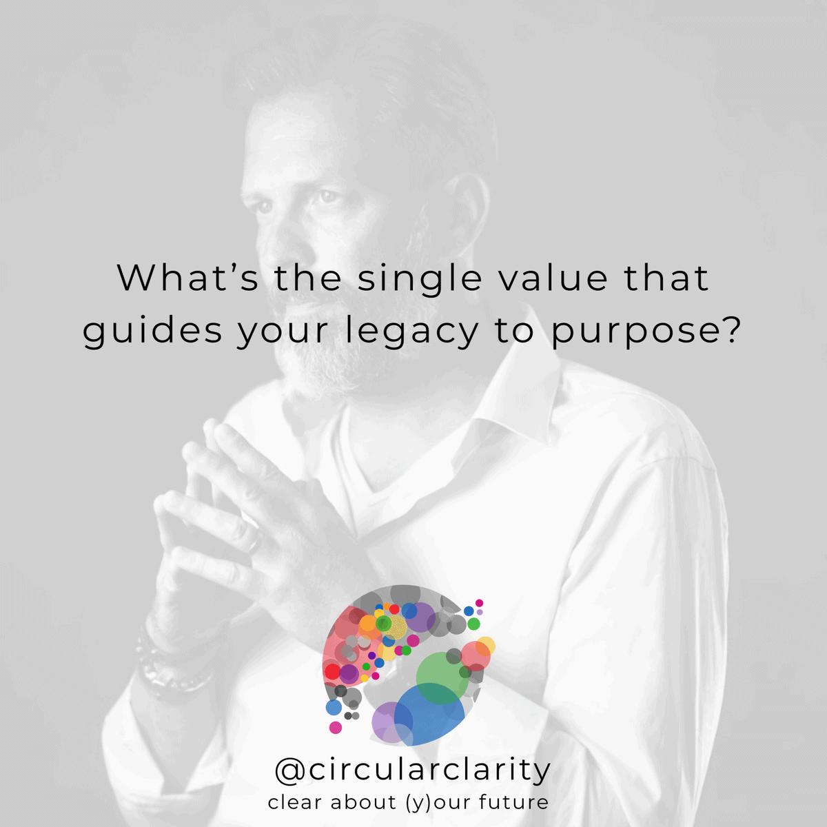 Circular Clarity - the single value that leads your life to purpose - Arjan van Jaaren