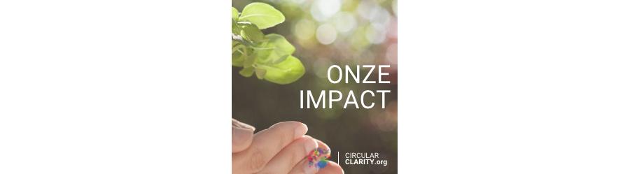 Onze impact 2021 - Circular Clarity